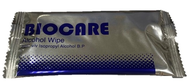 Biocare Alcohol Surface Wipe